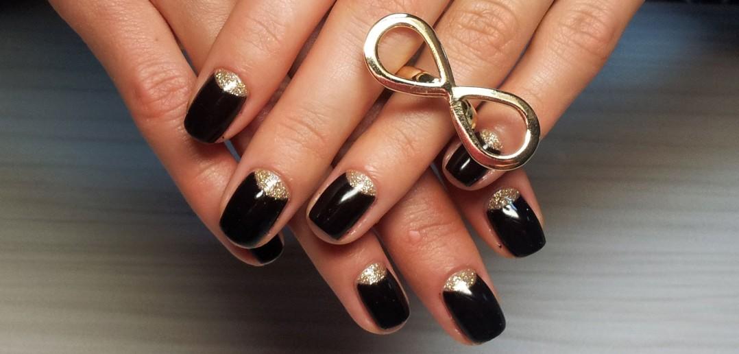 Шилак ногтей черный