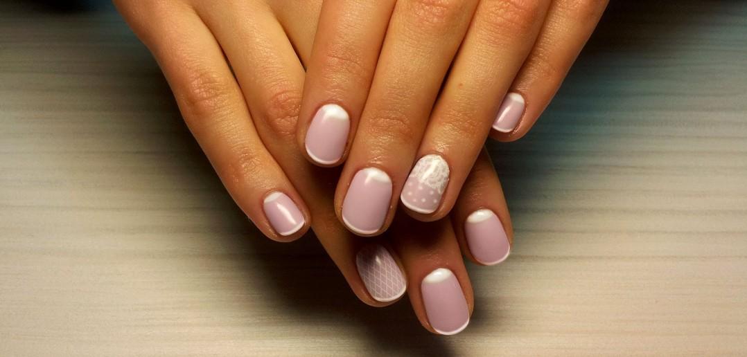 Гель лак для ногтей дизайн на короткие ногти