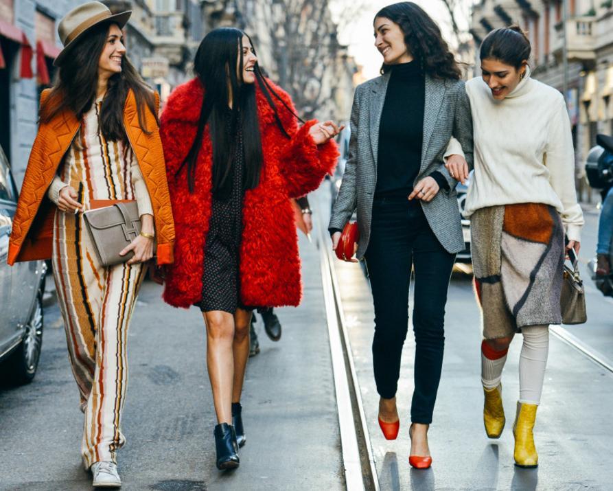 Женские модные одежды 2017