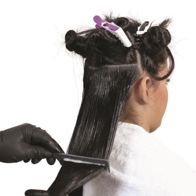 Как наносить на волосы кератин в домашних условиях