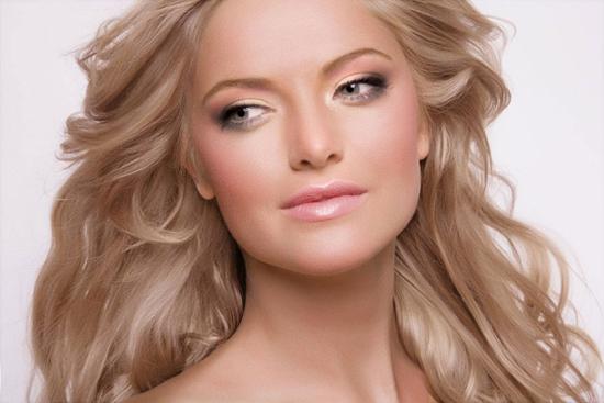 Теплый блонд цвет волос фото