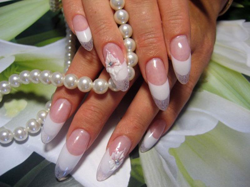 Гелевые ногти на своими руками 491