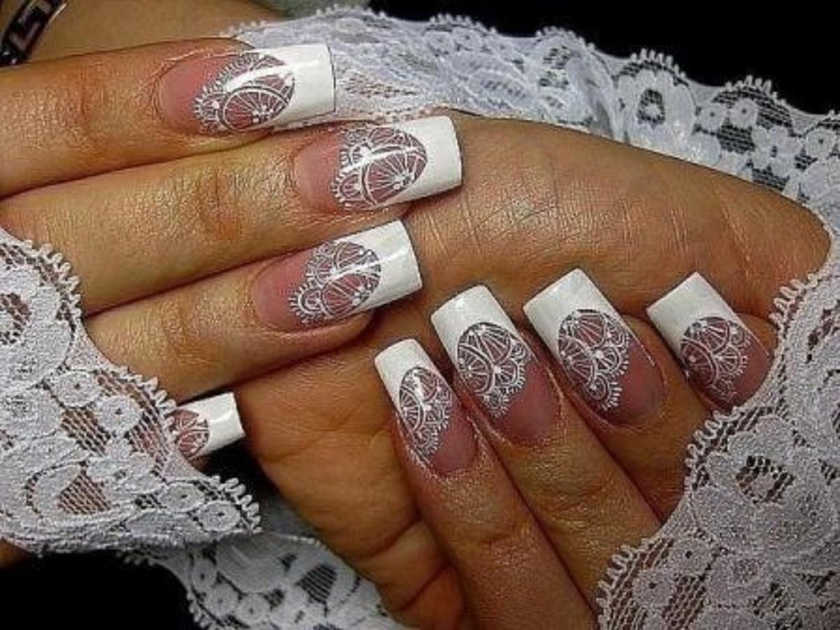 Дизайн ногтей дизайн на свадьбу фото