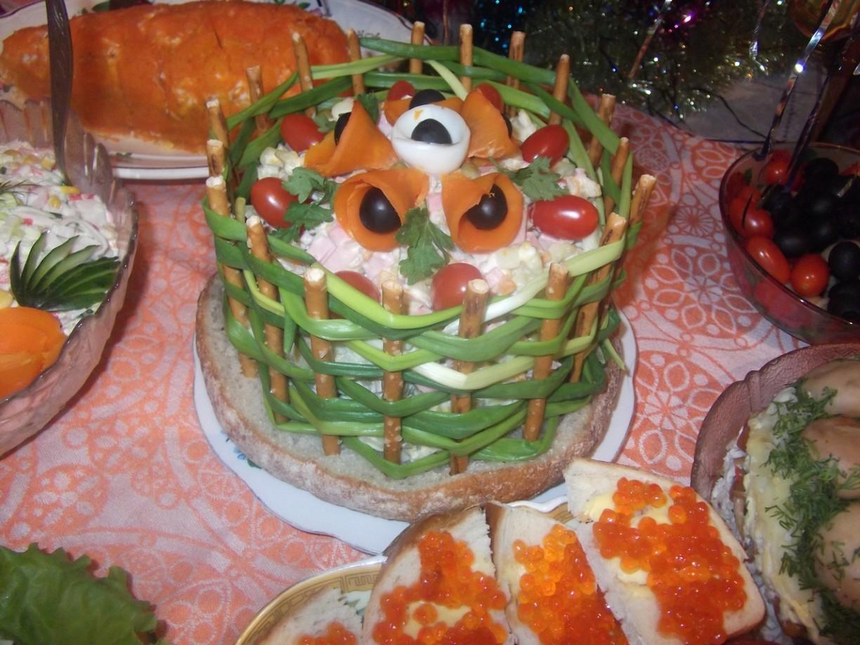 Новогодние салаты рецепты с и закуски