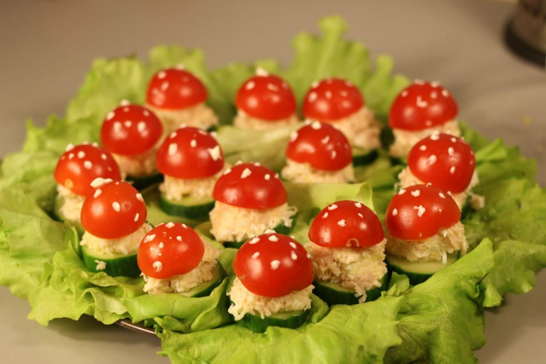 Рецепты праздничных закусок и салатов