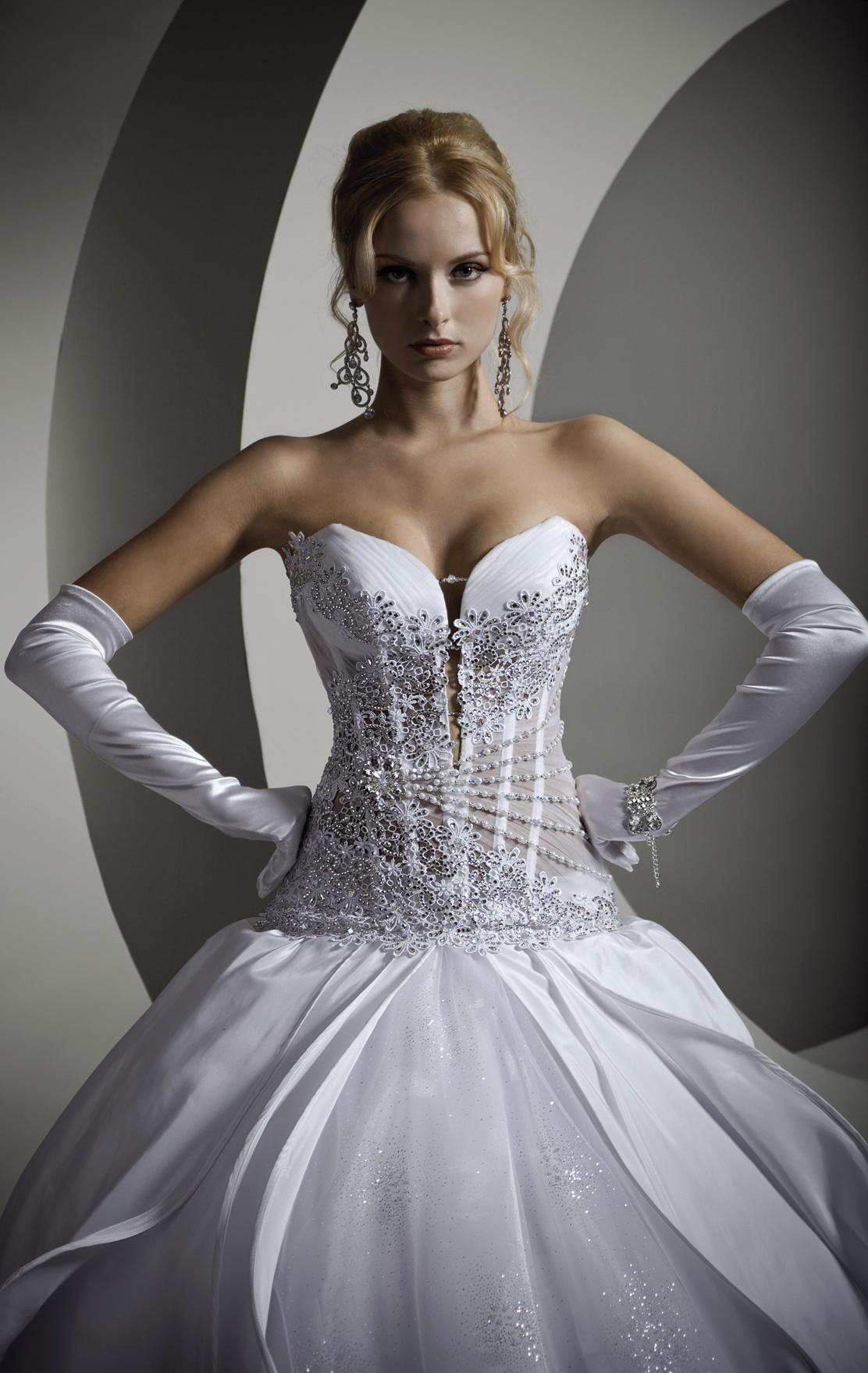 Корсет для свадебного платья