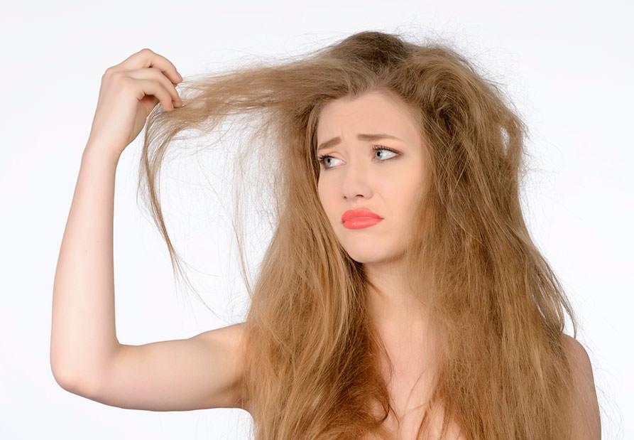 Как сделать ломкие волосы