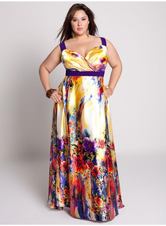 Летние платья больших размеров своими руками