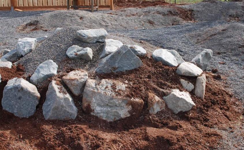 Как сделать горный камень 163