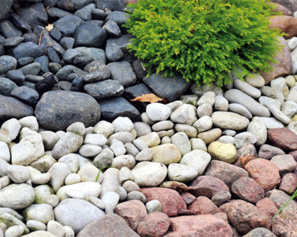Отсыпка камнем в ландшафтном дизайне