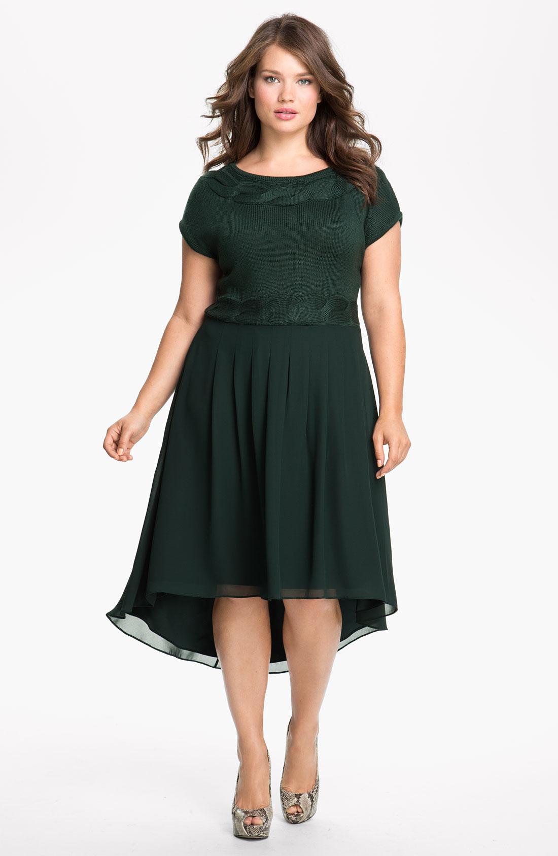 Платье на новый год на полных 2017