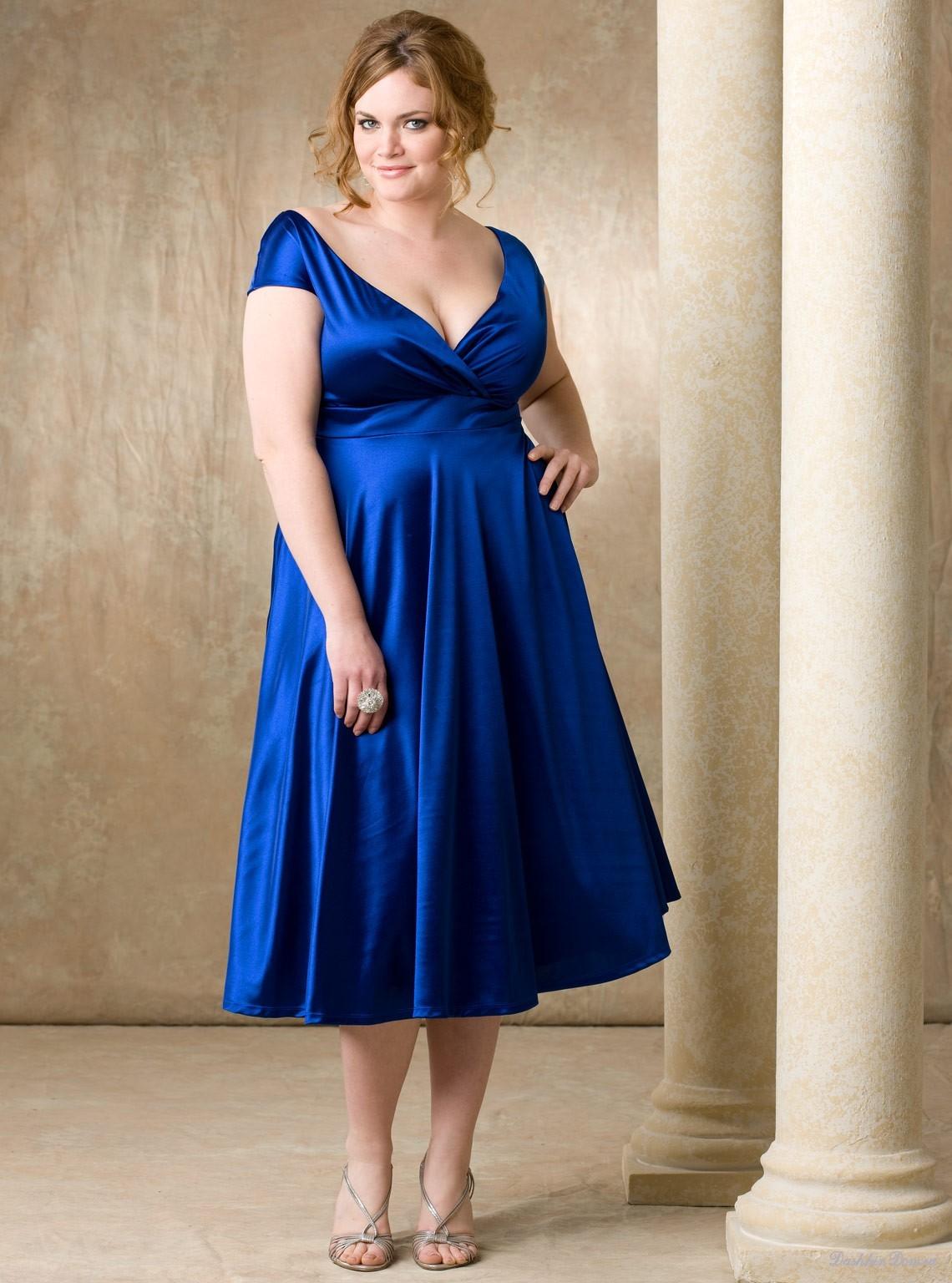 Вечерние платья для беременных полных женщин