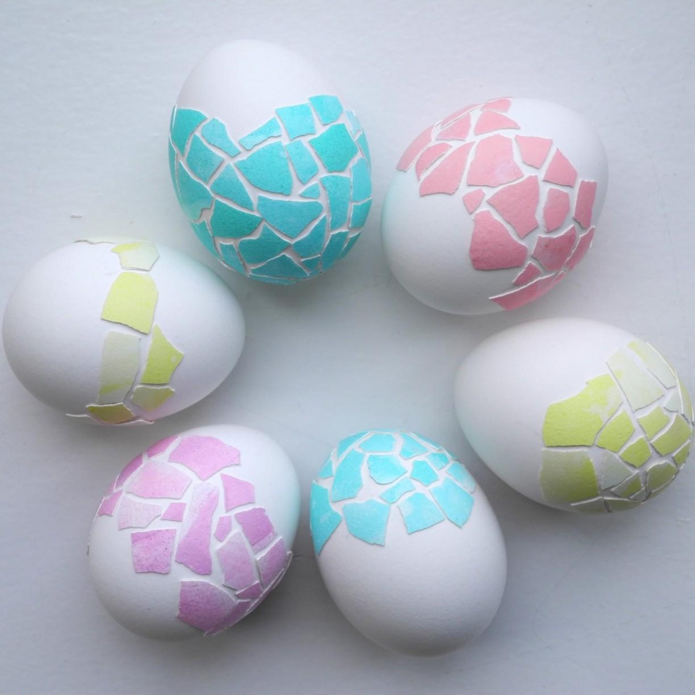 Как сделать разметку на яйце