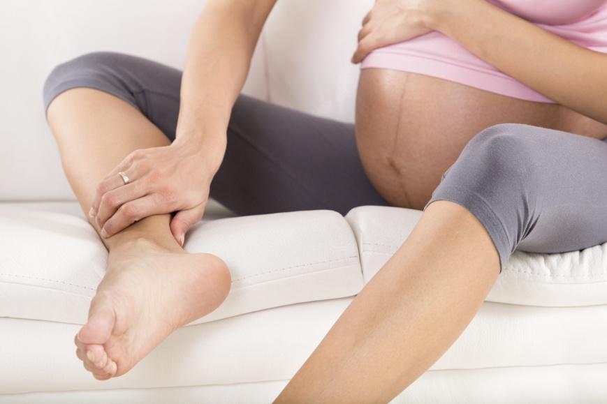 Отеки на поздних сроках беременности