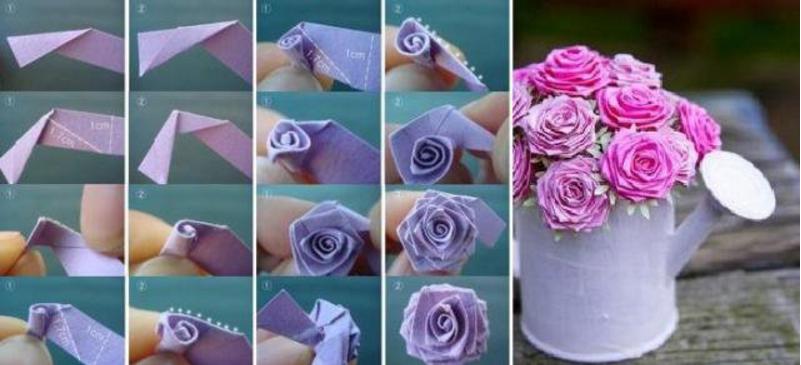 Цветы из атласных лент своими рукам на