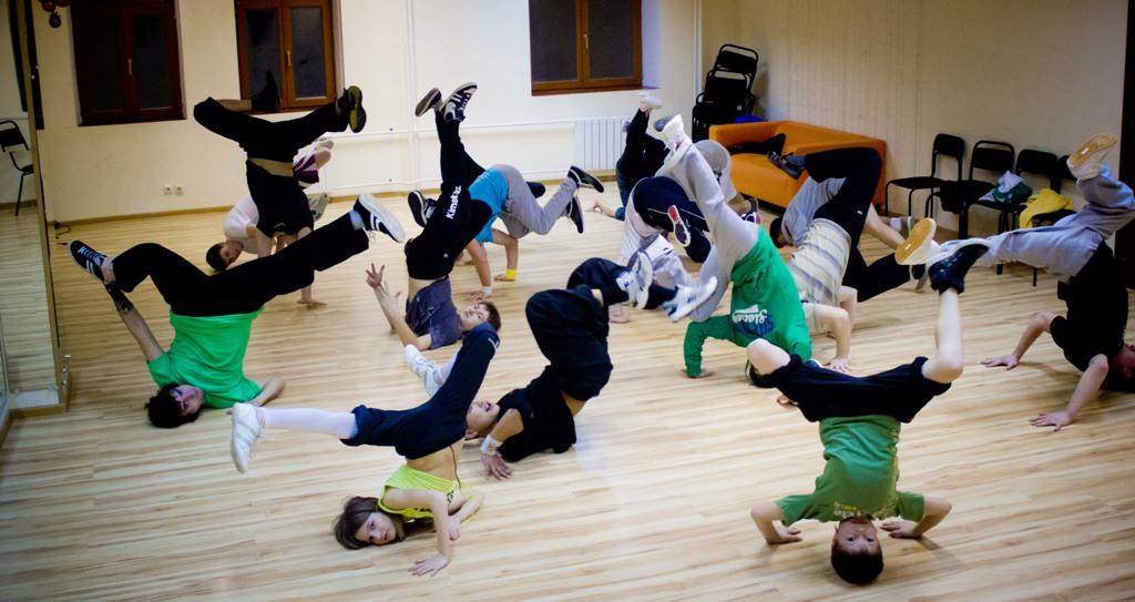 breakdance style