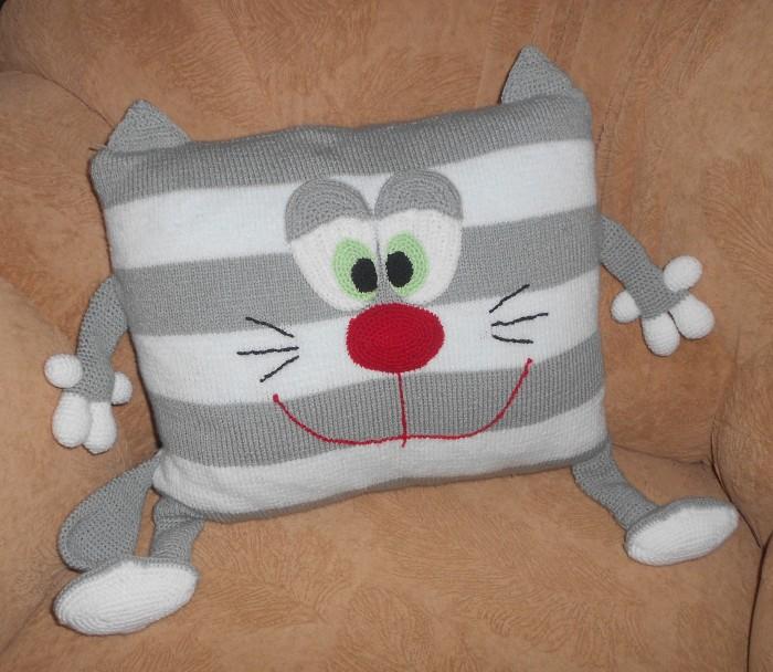 Подушка кот своими руками: выкройки, фото идеи, видео мастер 92