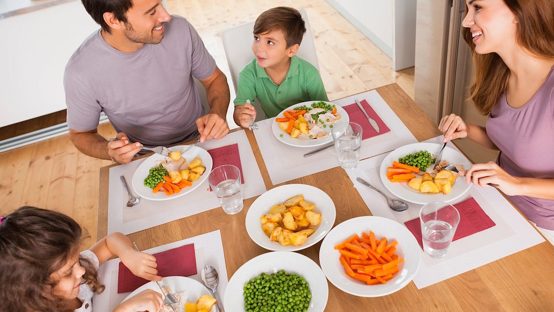 рецепты ужина для всей семьи