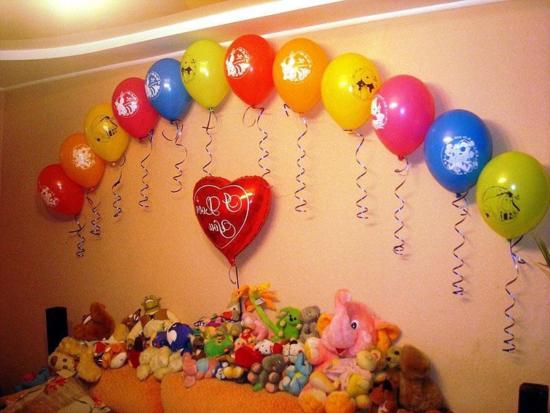60 идей декора на день рождения ребенка своими руками