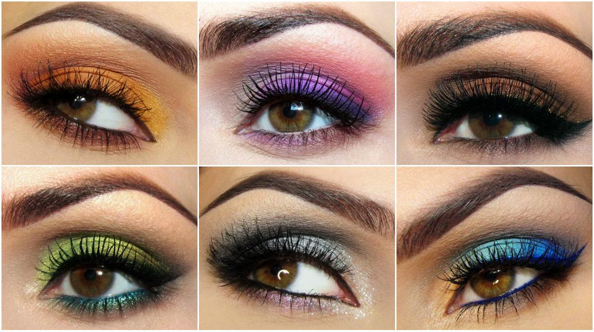 Повседневный макияж для карих глаз-видео