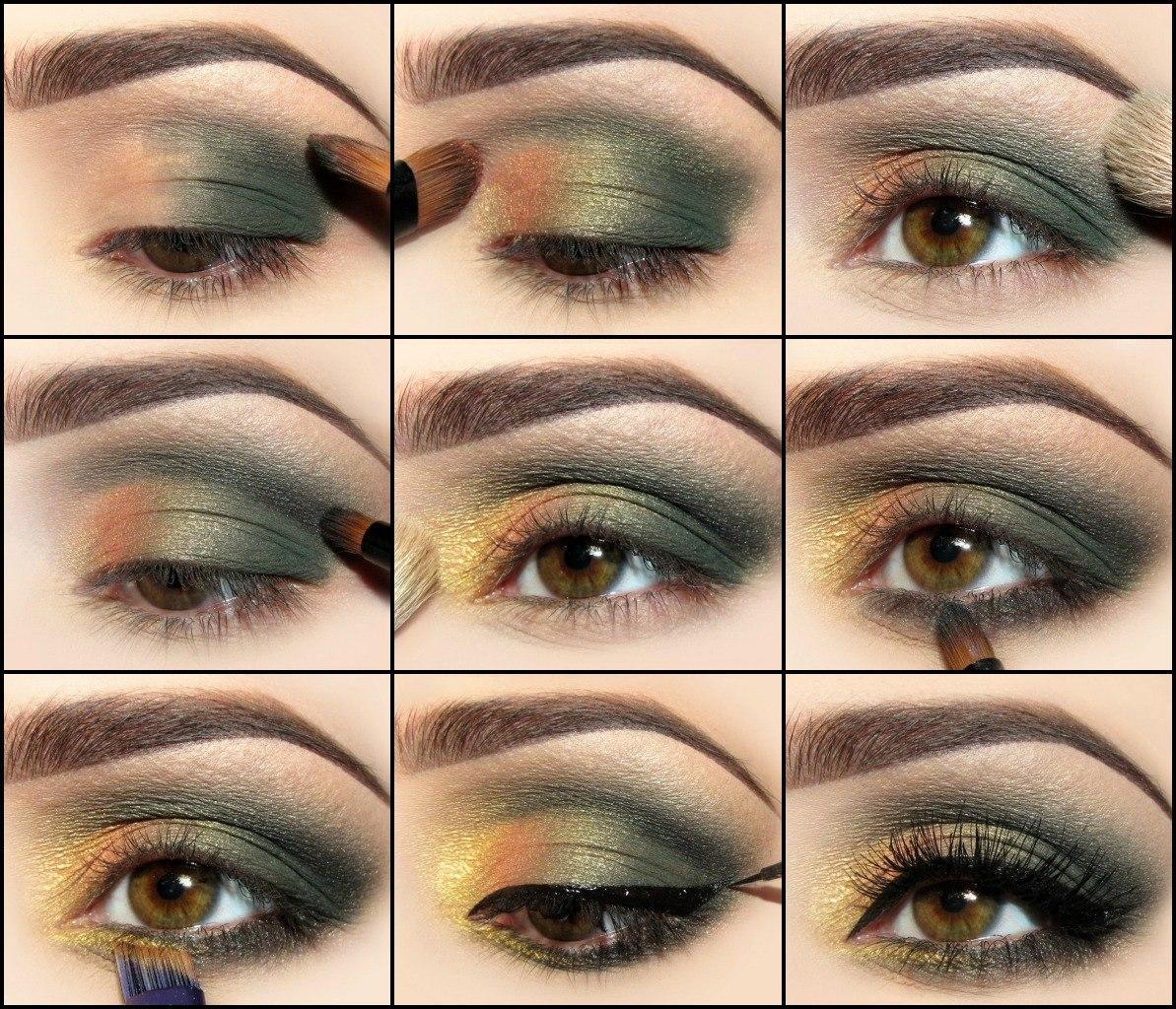 Как правильно нанести макияж с цветом зеленых глаз