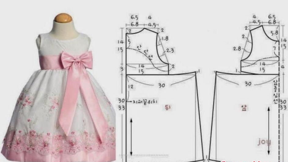 Как сшить платье на 9 лет