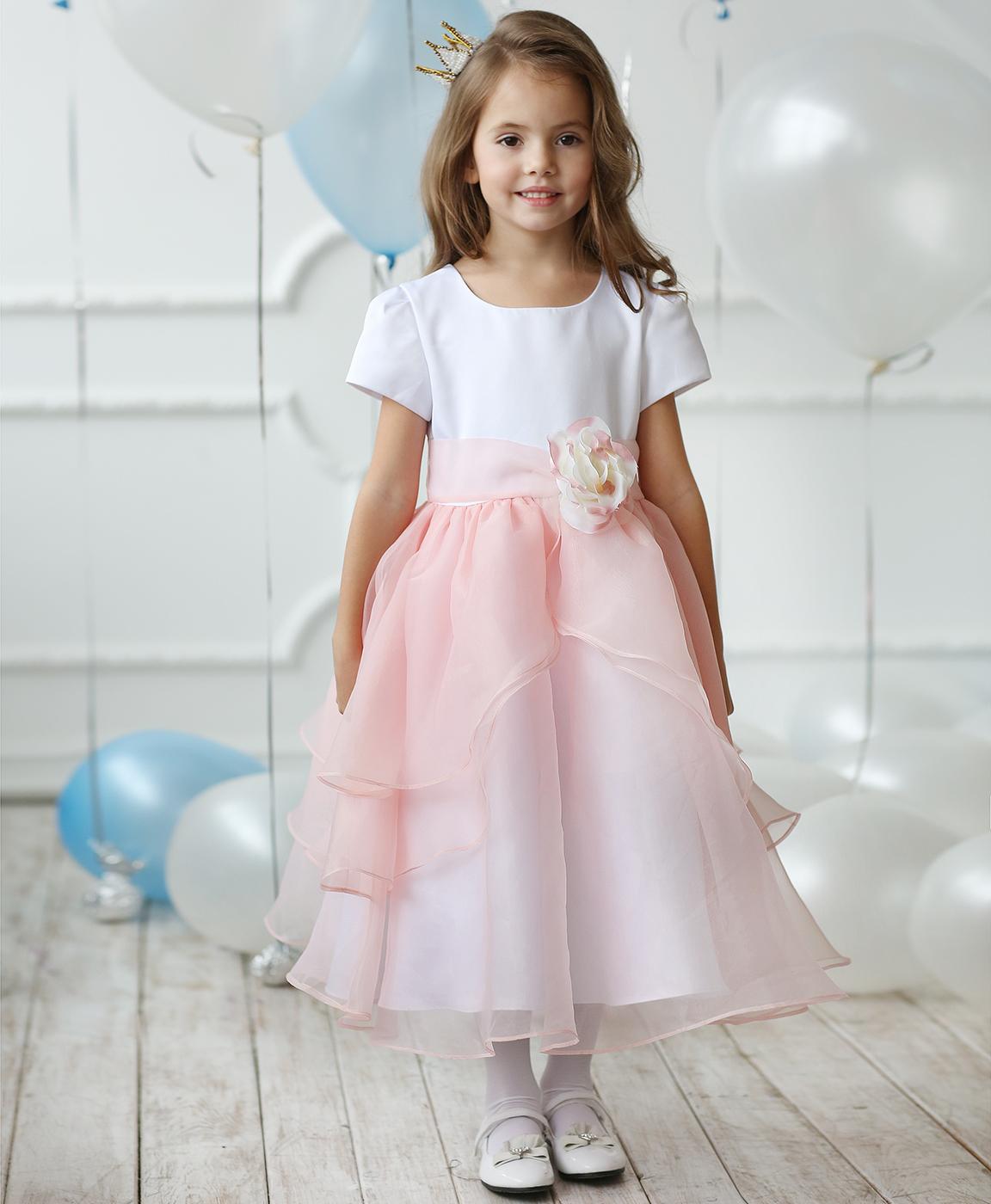 платье крючком для выпускного в детском саду схемы