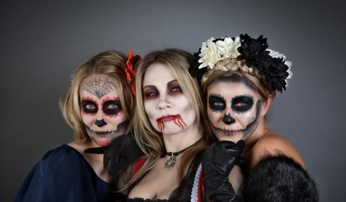 Сексуальный и страшный наряд на хэллоуин своими руками