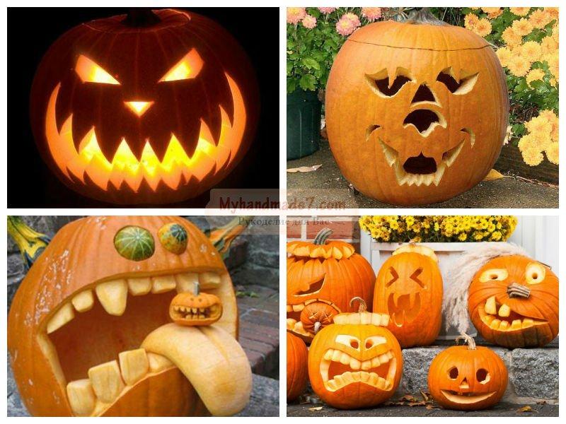 Как сделать своими руками тыкву на хэллоуин 37