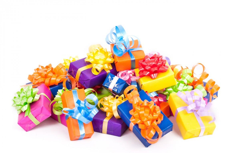 С днем рождения с маленькими подарками 589