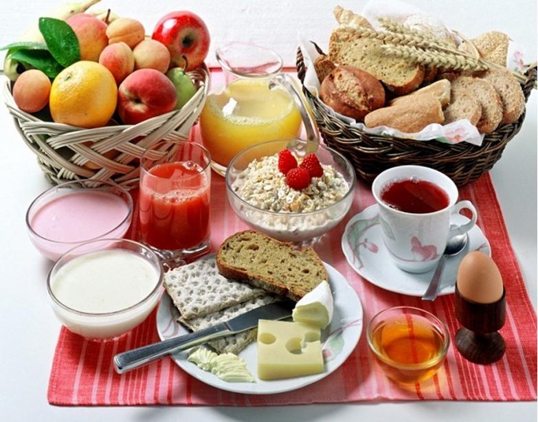 Вкусный завтрак для мужа