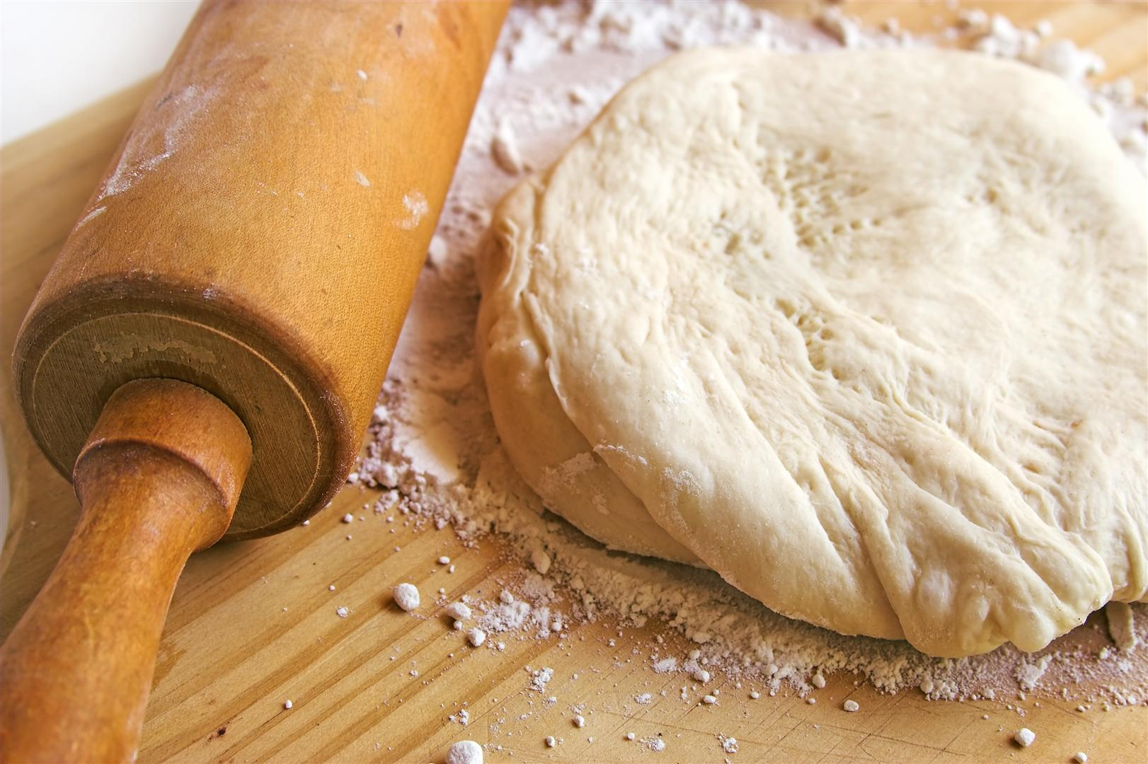 Как быстро сделать солёное тесто