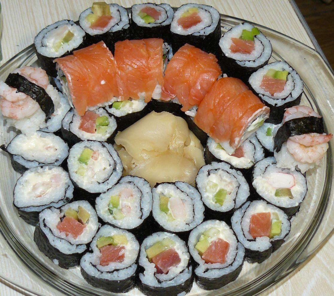 Как просто в домашних условиях суши