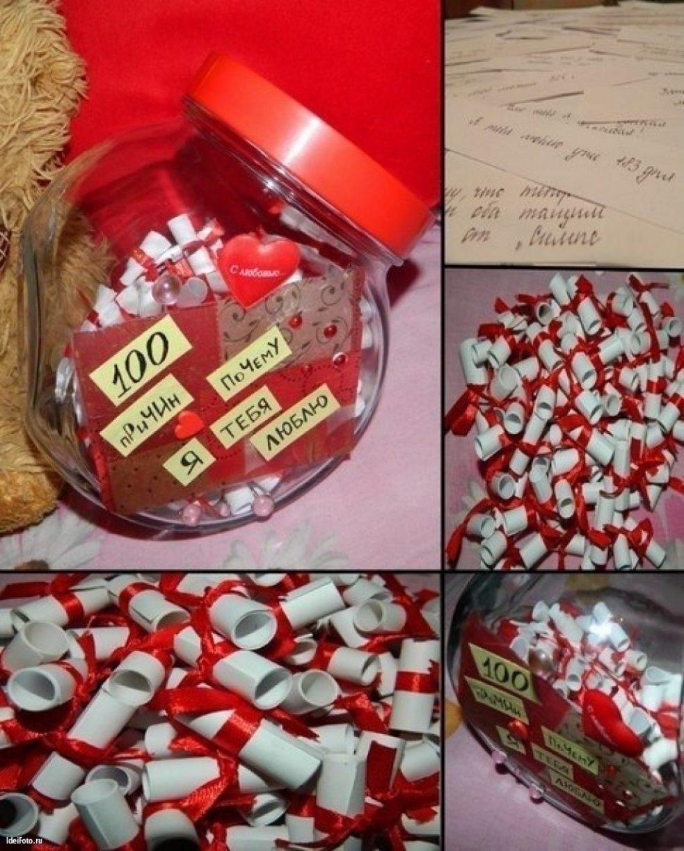 Креативные подарки для мужа своими руками