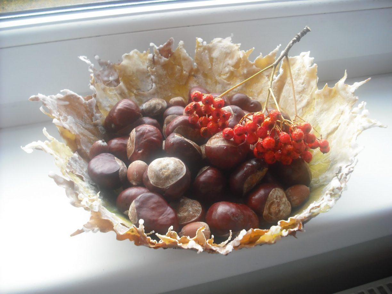 Осенние вазы своими руками фото