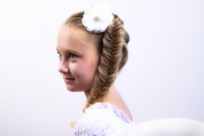 Прически на длинные волосы на 1 сентября 1 класс