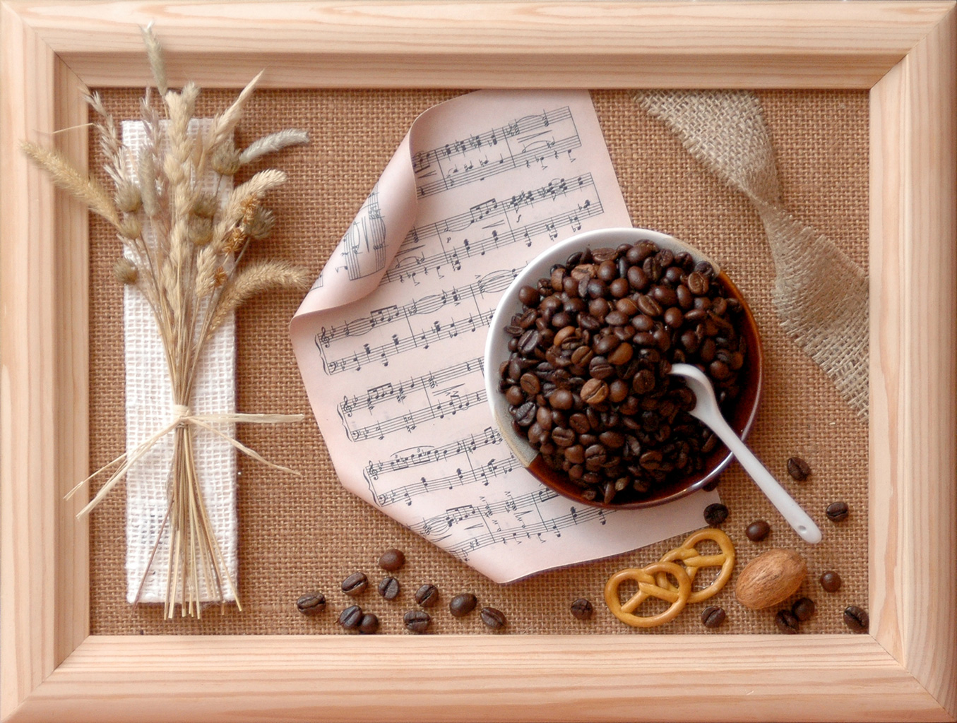 Панно своими руками кофейные зерна 69