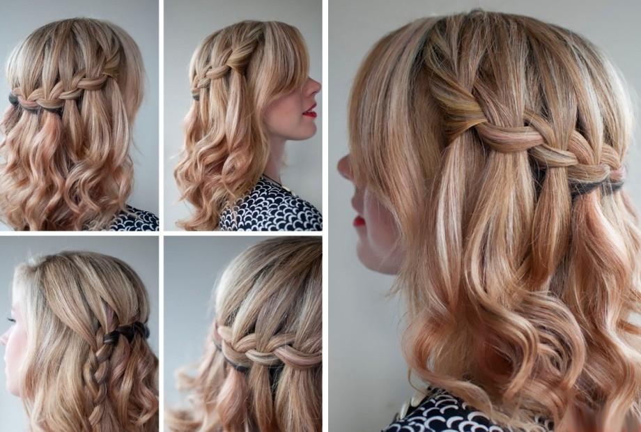 красивые прически на длинные волосы косы