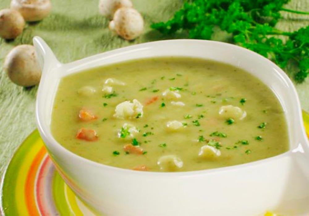 суп-пюре из цветной капусты рецепт