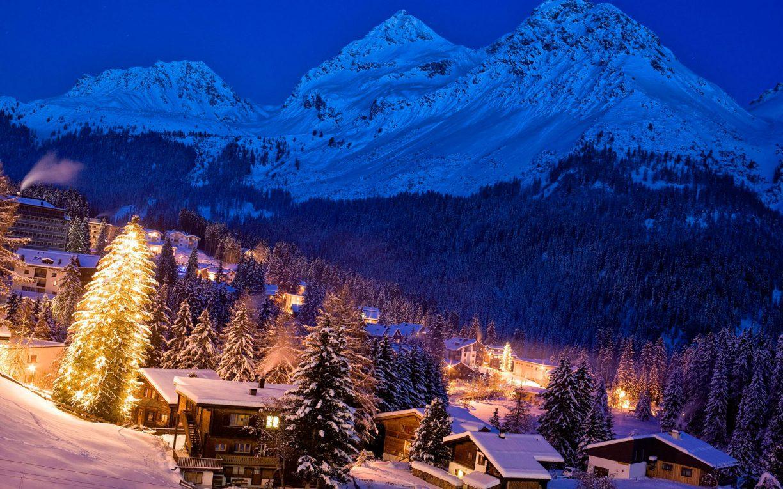Встречайте новый год в горах