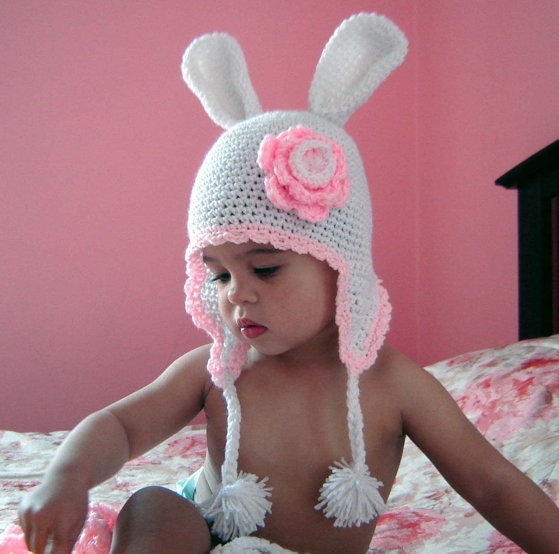 схема вязания шапочки с ушками для девушек