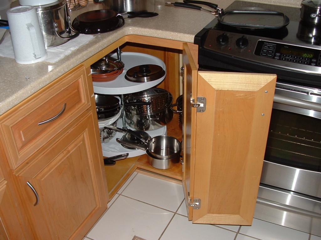 Угловой шкаф на кухню своими руками фото