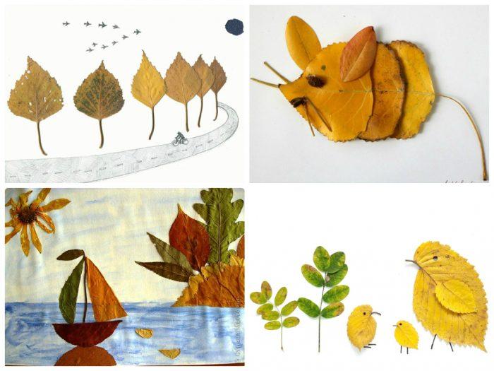 Осенние поделки в детский сад пошагово 56