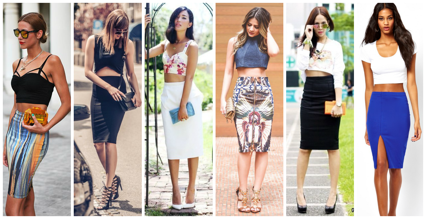 Стильные юбки и топы