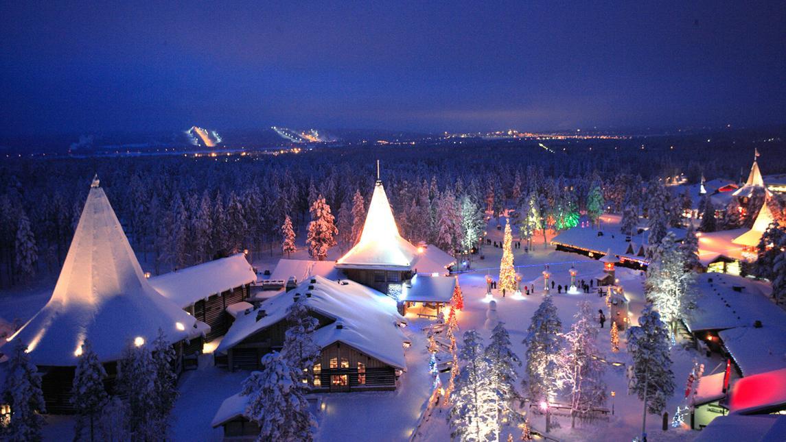 Новый год с детьми в финляндии туры