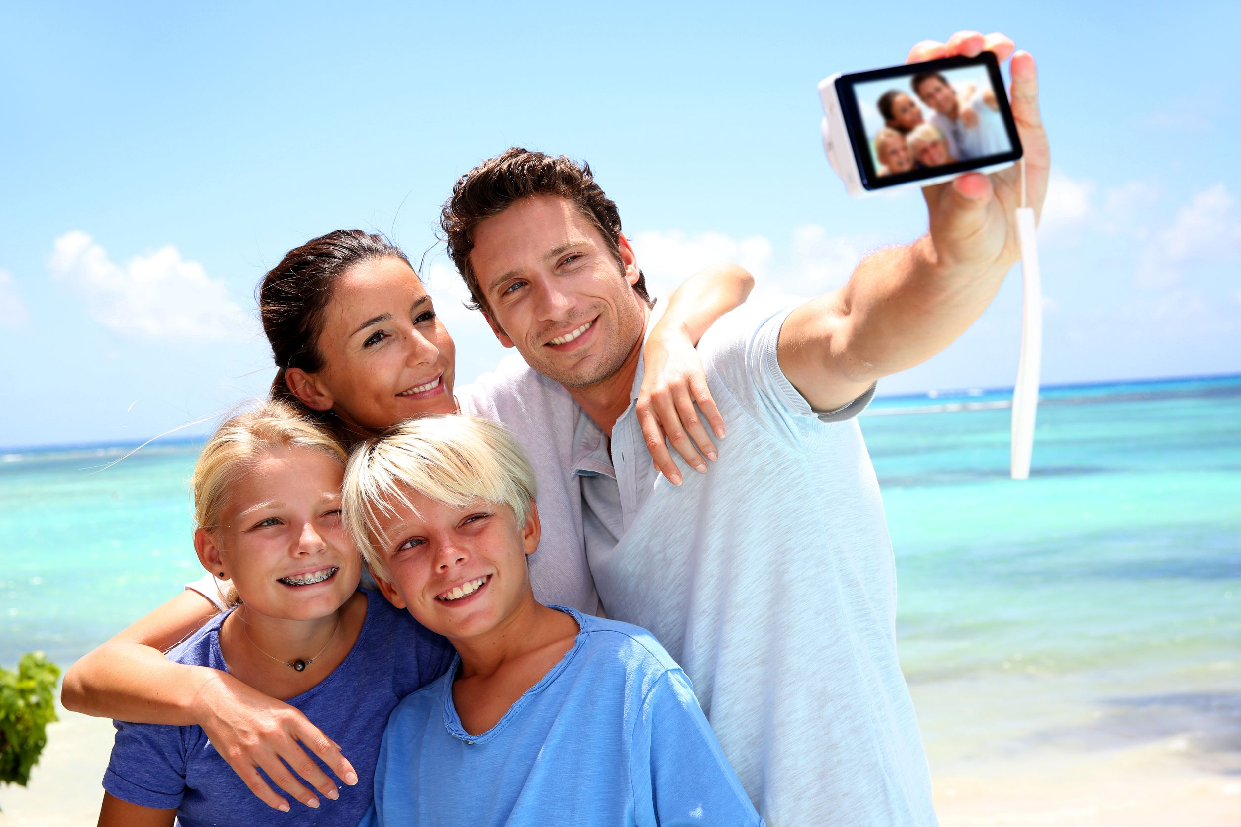 семейное фото с детьми идеи