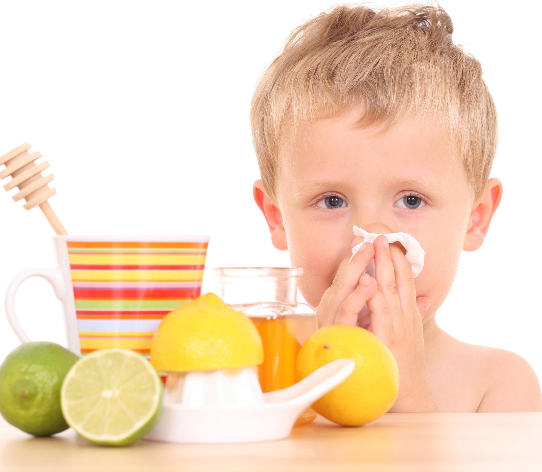 Народные средства от гриппа и простуды у детей в домашних условиях