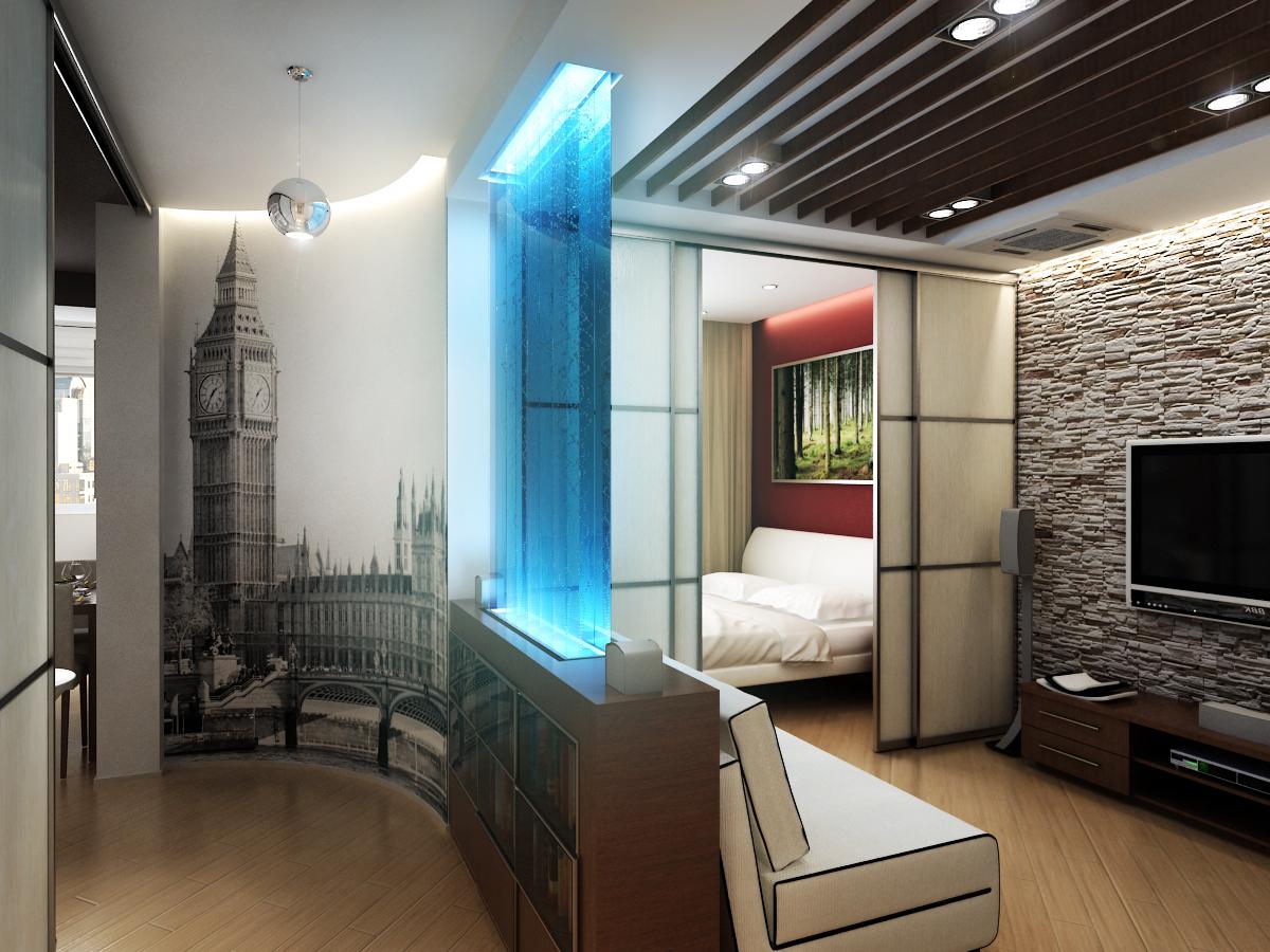 Комната 20 кв.м дизайн фото