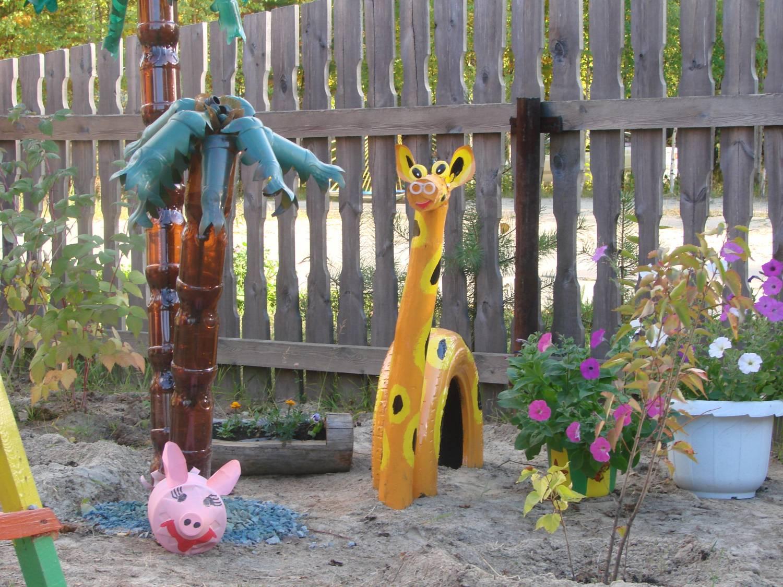 Поделки для сада детского своими руками из подручных материалов фото