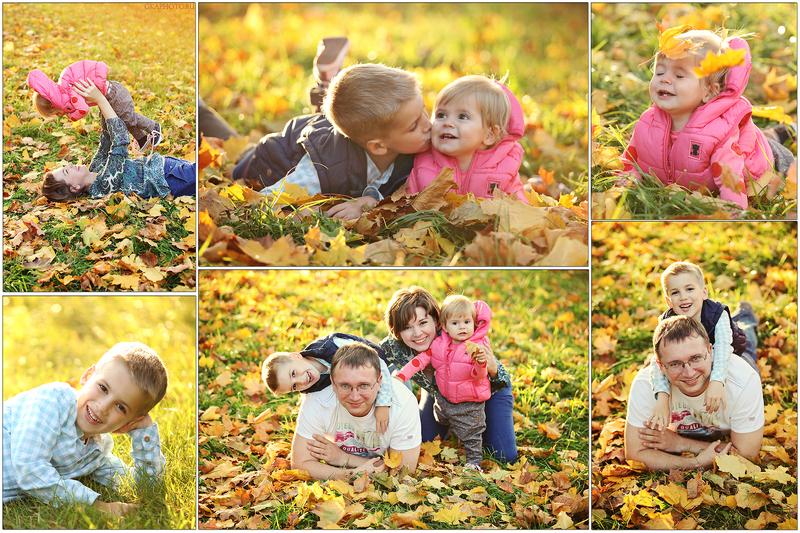Идеи для фото осенью с ребенком